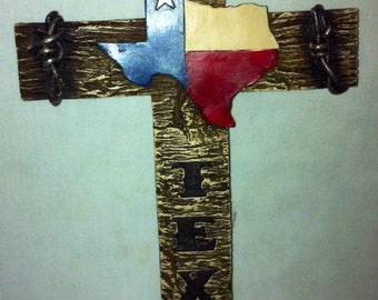Texas Cross Wall Hanging