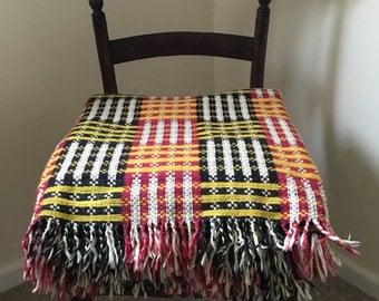 Vintage Maori blanket