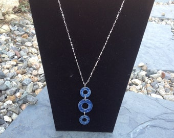Upcycled Metal Washer Necklace