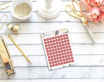 MINI Youtube Stickers || 90 Planner Stickers