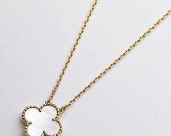 Clover Gold Chain Necklace