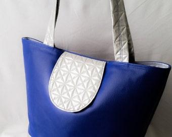 """Origami"" handbag worn hand or shoulder"