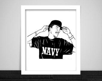 Wiz Khalifa Print