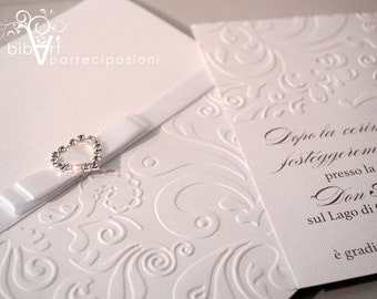 Elegant wedding participation-luxury wedding