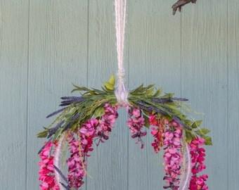 Newborn Photography Prop Flower Swing