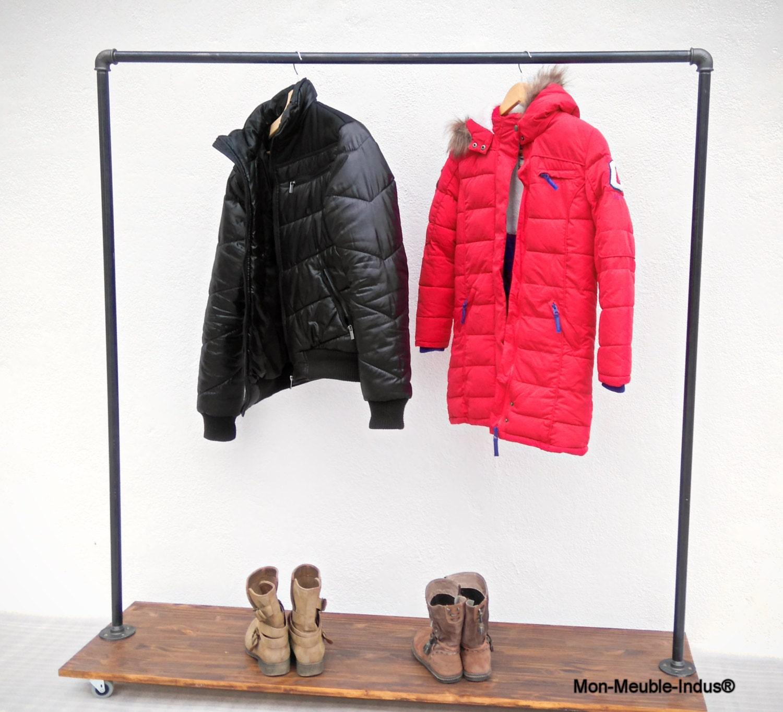 portant v tement industrielrangement chaussure clothing rack. Black Bedroom Furniture Sets. Home Design Ideas