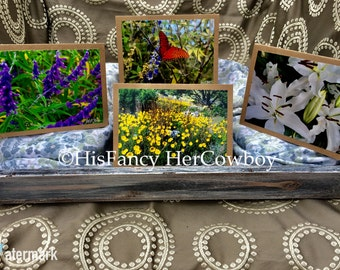 Handmade Photography Stationery Card Collection 8 Blank Cards/15.00