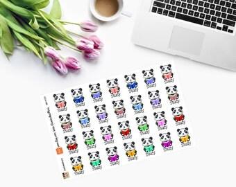Study Planner Stickers CAM00159
