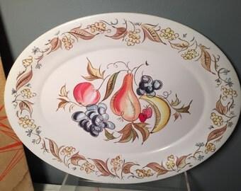 Vintage Kenro Festivity Platter