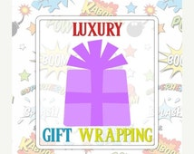 ON SALE Luxury Gift Wrap Add-On, Recycled Gift Box, Choose Colour, Eco-Friendly, Luxury Gift Box, Foam Insert, Add-On