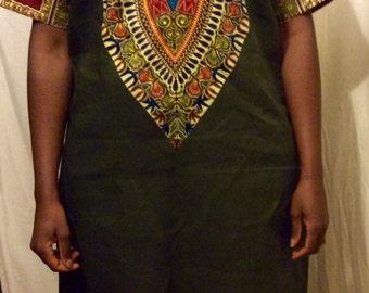 Ya Mado African Print Dress