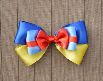 Disney Inspired Snow White Hair Bow