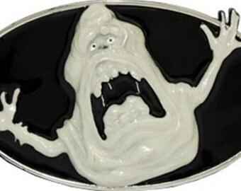 Ghostbusters Movie Glow In The Dark Slimer Ghost Belt Buckle