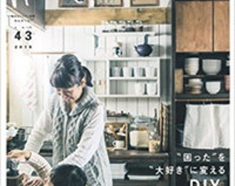 Come home! vol.43 Japanese Interior Lifestyle Magazine, DIY Kitchen Cute Kid's furniture Book
