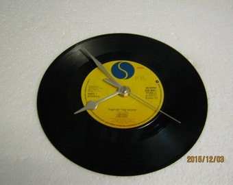 """The Rezillos - """"Top Of The Pops"""" Record Wall Clock"""