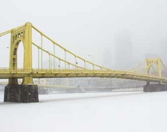 ANDY WARHOL Bridge in Pittsburgh, PA
