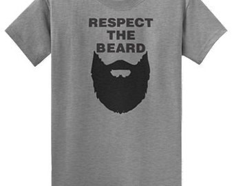 Respect The Beard! S - 5X FREE SHIPPING!
