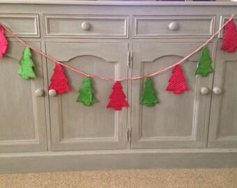 Christmas Tree Decoration Bunting