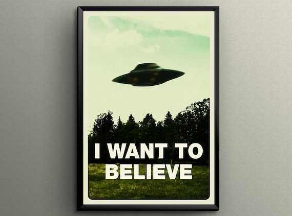 The XFiles I Want To Believe Poster Gicl233e by POSTERSCOOPX Files I Want To Believe Poster