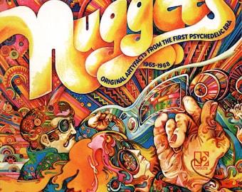 LP NUGGETS Original Artyfacts 1965-68 2xLp Vinyl UK New Audiophile Garage Psyche Electric Prunes The Seeds Count Five Nazz Standells Remains