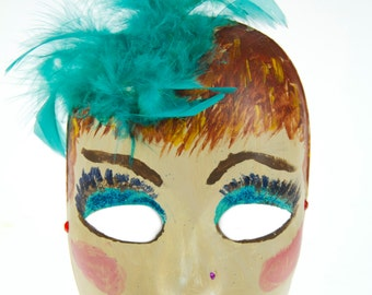 Painted Lady Mask