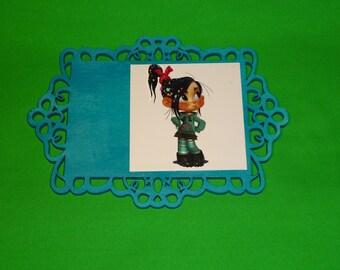 Disney's Wreck it Ralph - Vanellope Plaque