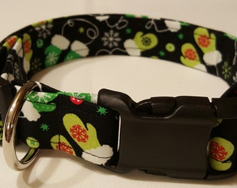 Winter Mittens Dog Collar