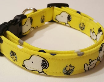 Dog Collar, Peanuts, Snoopy, Woodstock