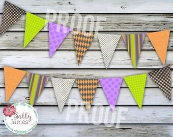 Halloween Banner - Halloween Party Decor - Halloween Decor - Instant Download