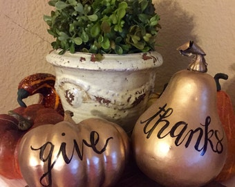 Give Thanks Gourds