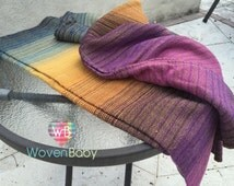 Evensong V2 Hand Woven Ring Sling Cotton Warp Merino Weft - TO BE CONVERTED by you