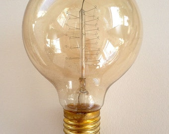 Vintage light bulb, new