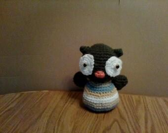 Amigurumi Crocheted Owl