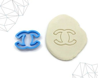 Coco Chanel Cookie Cutter, Fondant Cutter #48