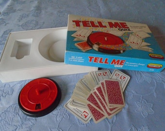 1989 issue 'Tell me' game from Spears