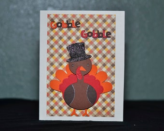 Plaid Gobble Gobble Turkey