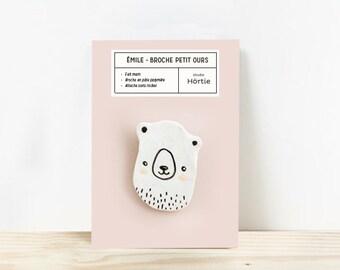 Bear pin / Emile
