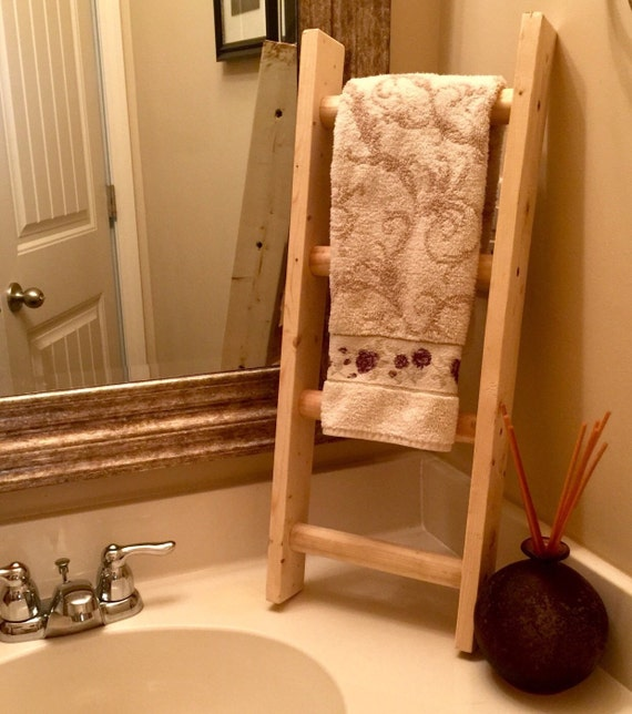 Bathroom Towel Ladder South Africa: Towel Holder-Bathroom Rustic Ladder
