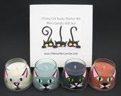 Crazy Cat Lady (Guy) Starter Kit Mini Soy Candle Set