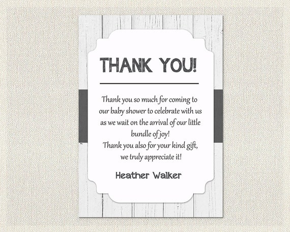 black and white thank you cards printable