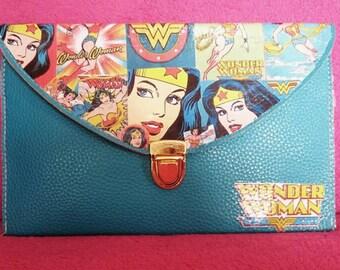Wonderwoman Clutch Bag Retro Style