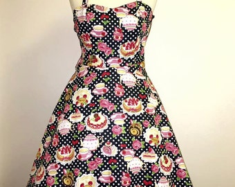 Cute rockabilly cake dress