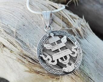 Silver 925 pendant auspicious