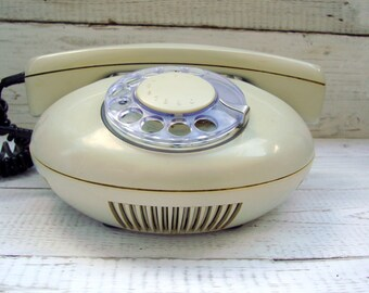 Retro telephone USSR Vintage telephone Old classic phone Desk telephone Retro Home decor