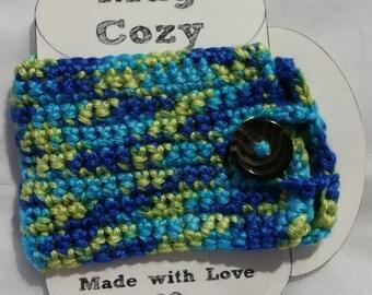 Mug Cozy - Blue and Green