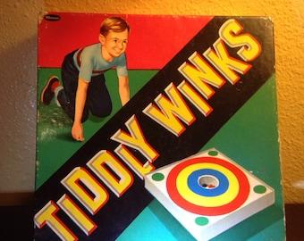 Vintage Bulls-Eye Tiddly Winks Game