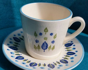 Vintage Swiss Alpine Marcrest for Stetson Cup and Saucer