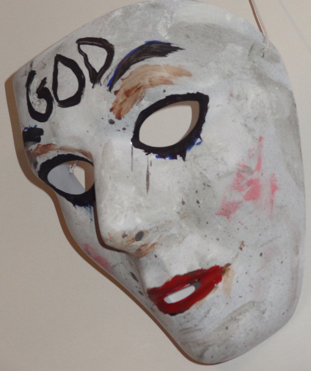 The Purge Anarchy God Mask Hand Painted Halloween Prop Brand