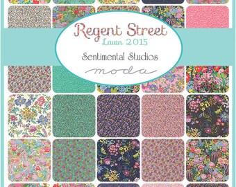 Regent Street Lawns Fat Quarter bundle Moda fabric