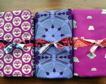 Fabric Bundle / 3 - 1 yard cuts / 2 yards by Anna Maria Horner and 1 yard by Cotton + Steel